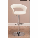 29 Bar Chair in White - Coaster - 120347