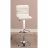 29 Bar Stool (Set of 2) in White - Coaster - 120345-SET