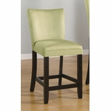 24 Inch Bar Chair (Set of 2) in Light Green - Coaster