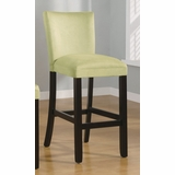 29 Inch Bar Chair (Set of 2) in Light Green - Coaster