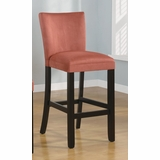 29 Inch Bar Chair (Set of 2) in Terracotta - Coaster