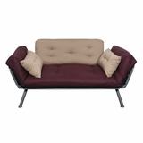 Sofa / Lounger with Aubergine/Caper Cover - Mali Collection - 55-6118-AC
