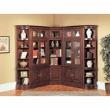 Sterling Library Wall Unit 3 - Parker House - STE-SET-6