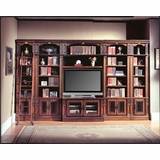 Davinci Entertainment Library Set 4 - Parker House PARK-DAV-ENTLIB-SET-4