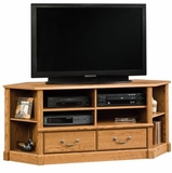 Orchard Hills Corner Entertainment Credenza Carolina Oak - Sauder Furniture - 403818
