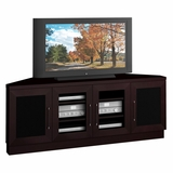 60 Contemporary TV Entertainment Corner Console for Plasma/LCD Installations - FT60CCC