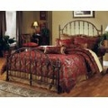 Iron Bed / Metal Bed - Tyler Bed in Antique Bronze - Hillsdale Furniture
