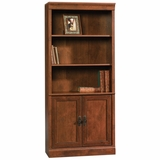 Arbor Gate Library with Doors Coach Cherry - Sauder Furniture - 408314