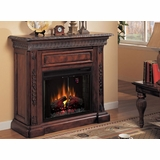 Electric Fireplace by Classic Flame in Antique Walnut - San Marco - 28WM671-W501