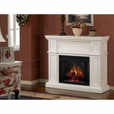 Electric Fireplace by Classic Flame in White - Artesian - 28WM426-T401