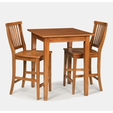 Bistro Set in Cottage Oak - Arts and Crafts - 5180-DSET-2