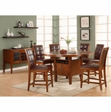 Dining Room Furniture Set 3 - Hudson Dining - Modus Furniture - HD-DSET-3