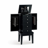 Jewelry Armoire in Black - Coaster