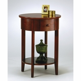 Accent Table in Walnut - Office Star - MA52