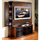 Flat Panel / Flat Screen TV Stand with Back Panel - Tango - JSP Furniture - T-70-SP