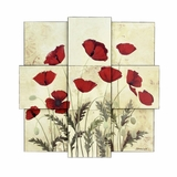 Wall Art - Wall Plaque - Style Craft - WI5-1008-DS