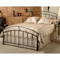 Iron Bed / Metal Bed - Vancouver Bed in Antique Brown Finish - Hillsdale Furniture