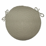 Rio Mist 15 Braided Chair Pad - Rhody Rug - RI-5715CPMI