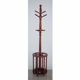 Coat Rack with Umbrella Stand in Oak - Coaster