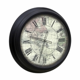 Wall Clock - Style Craft - WC-1002-DS