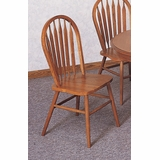 Side Chair (Set of 2) in Oak - Coaster