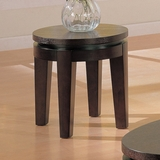 End Table in Cappuccino - Coaster - COAST-17005971