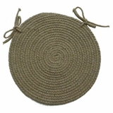 Millennium Willow 15 Braided Chair Pad - Rhody Rug - M-41415CPWL