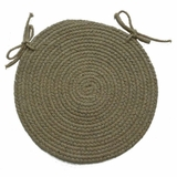 Millennium Emerald 15 Braided Chair Pad - Rhody Rug - M-61415CPEM
