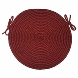 Braided Hook Collection 15 Chair Pad Vineyard - Rhody Rug - SYIB-70215CPVI