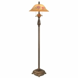 Brazilian Rose Floor Lamp - Dale Tiffany - TF60297