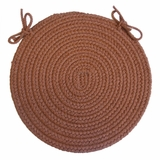Rio Almond 15 Braided Chair Pad - Rhody Rug - RI-8715CPAL