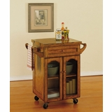 Kitchen Cart - Noble Oak - Powell Furniture - 439-462