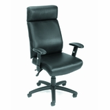Boss Multi Function Executive Chair with Seat Slider in Black - B700-SS