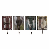 Casa Wall Hooks (Set of 4) - IMAX - 27391-4