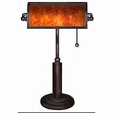 Franklin Mica Bankers Lamp - 4D Concepts - 911863