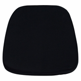 Black Chiavari Chair Cushion for Wood / Resin Chiavari Chairs - LE-L-C-BLACK-GG