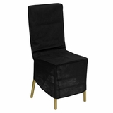 Black Fabric Chiavari Chair Storage Cover - LE-COVER-GG