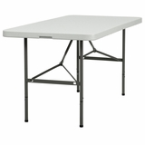 Plastic Bi-Fold Folding Table 30 x 60'' - DAD-YCZ-152Z-GG