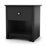 Night Stand in Solid Black - South Shore Furniture - 3170062