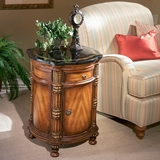 Drum Table in Heritage - Butler Furniture - BT-0847070