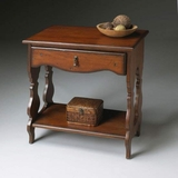 Side Table in Old World Cherry - Butler Furniture - BT-1569102