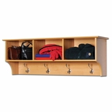 Cubbie Shelf for Entryway in Maple - Sonoma Collection - Prepac Furniture - MEC-4816