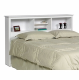 Full / Queen Size Headboard in White - Monterey Collection - Prepac Furniture - WSH-6643