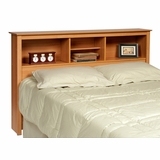 Full / Queen Size Headboard in Maple - Sonoma Collection - Prepac Furniture - MSH-6643