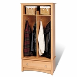 Entryway Organizer in Maple - Sonoma Collection - Prepac Furniture - MEL-3369