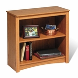 2 Shelf Bookcase in Oak - Sonoma Collection - Prepac Furniture - ODL-3229