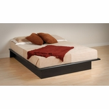 Platform Bed - Full Size Platform Bed in Black - Prepac Furniture - BBD-5475