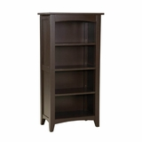 Tall Bookcase in Chocolate - Shaker Cottage - Alaterre - ASCA08CL