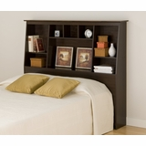 Tall Full / Queen Size Bookcase Headboard - Prepac Furniture - ESH-6656