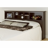 King Size Storage Headboard - Prepac Furniture - ESH-8445